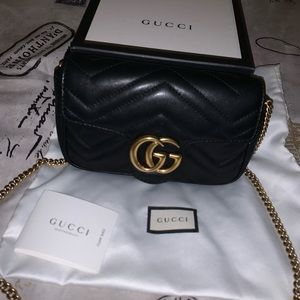 Mini Gucci Marmont Matelassé